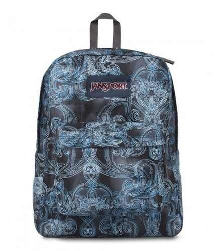 Mochila Jansport Superbreak Multi Ornate Blues Js00 T501-0jp