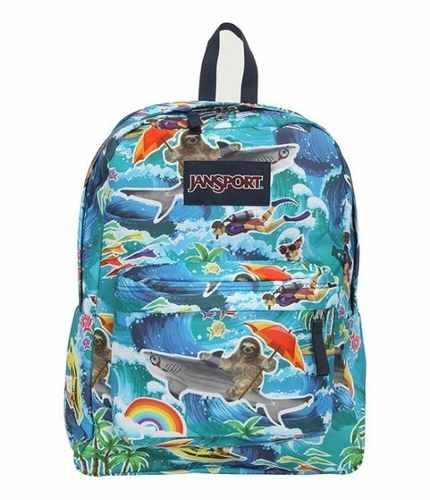 Mochila Jansport Superbreak Multi Wet Sloth Js00 T501-0l2 - comprar online