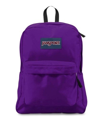 Mochila Jansport Superbreak Signature Purple Js00 T501-31d