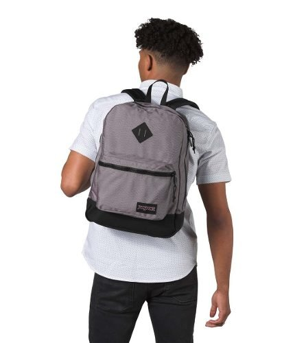 Mochila Jansport Super Fx Grey Optical Zigzag Js0a 2sdr-55q en internet