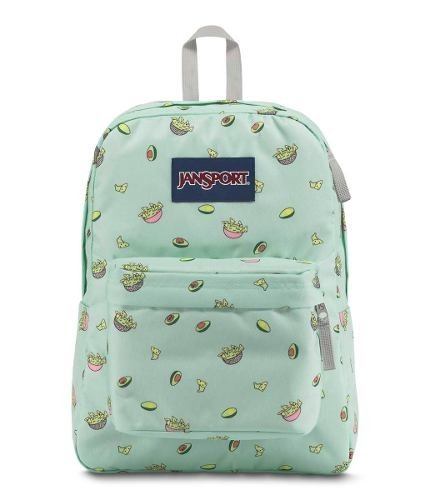 Mochila Jansport Superbreak Avocado Party Js00 T501-46u