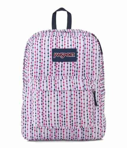 Mochila Jansport Superbreak Navy Front Row Spot Js00t501-33u