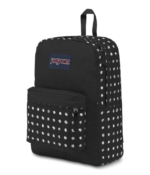 Mochila Jansport Superbreak Black Sketch Dot Js00 T501 4j6 - JanSport Argentina