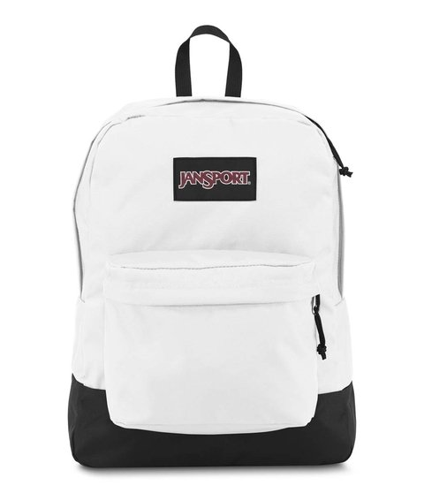Mochila Jansport  Black Label White Js00t60g-whx