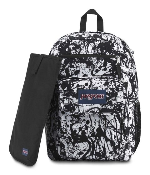 Mochila Jansport Digital Student Black Paintbal Js00 T69d0jr