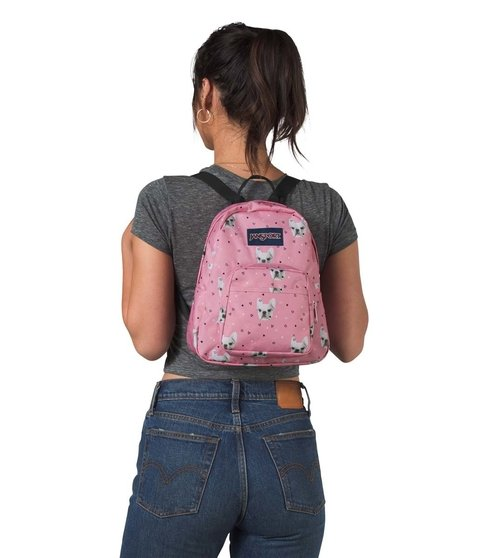 Mochila Jansport Half Pint Fierce Frenchies Js00 Tdh64p6 en internet