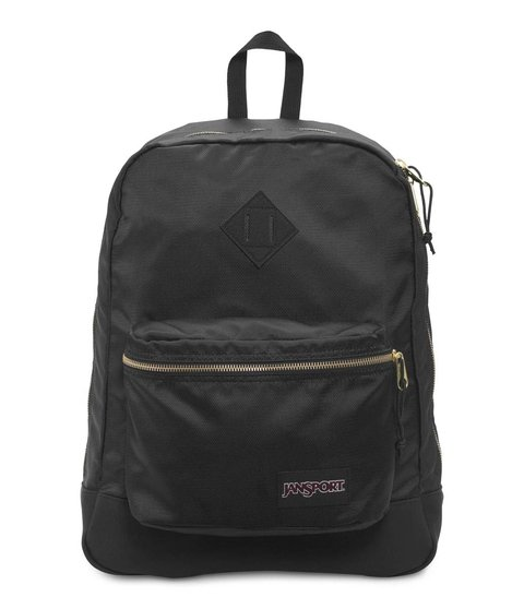 Mochila Jansport Super Fx Black / Gold Js0a 2sdr-0uq