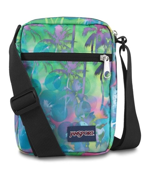 Bolso Jansport Weekender Electric Palm Js0a 3c4g-40b