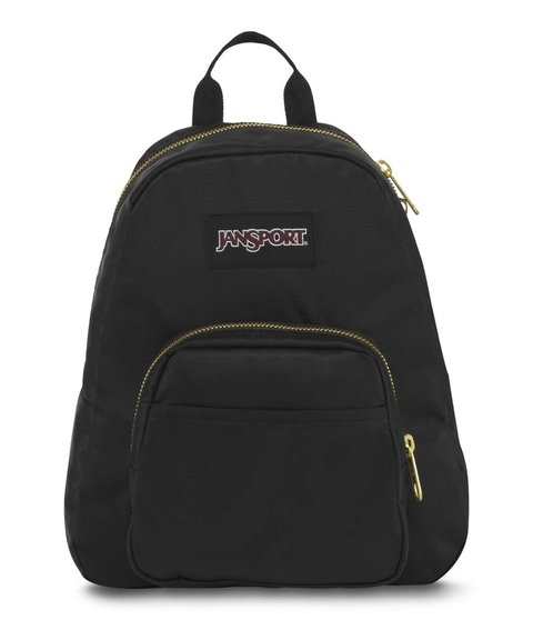 Mochila Jansport Half Pint Fx Black/gold Js0a 3c4j-0uq