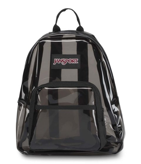 Mochila Jansport Half Pint Fx Translucent Black Js0a 3c4j5h9