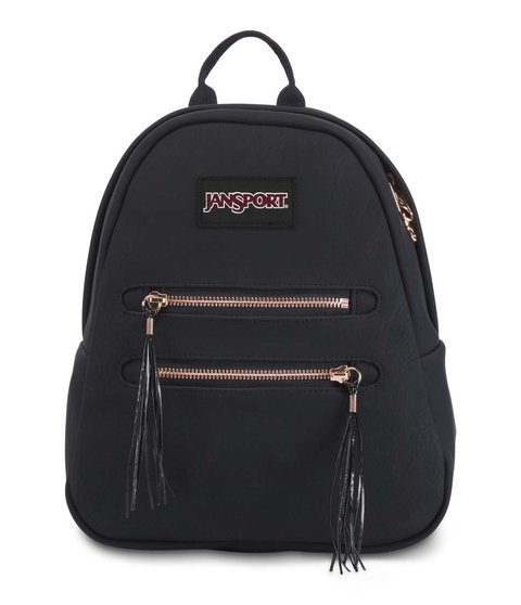 Mochila Jansport Half Pint Fx2 Black/rose Gold  Js0a 3p3d5j4