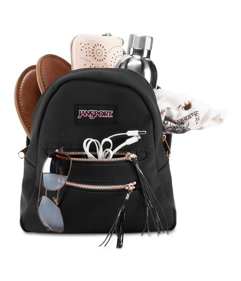Mochila Jansport Half Pint Fx2 Black/rose Gold  Js0a 3p3d5j4 en internet