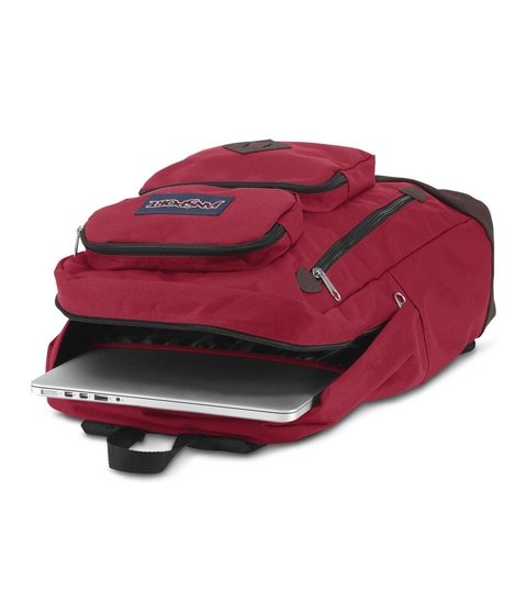 Mochila Jansport Austin Viking Red Js00 T71a-9fl en internet