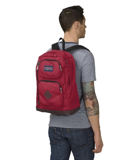 Mochila Jansport Austin Viking Red Js00 T71a-9fl - JanSport Argentina