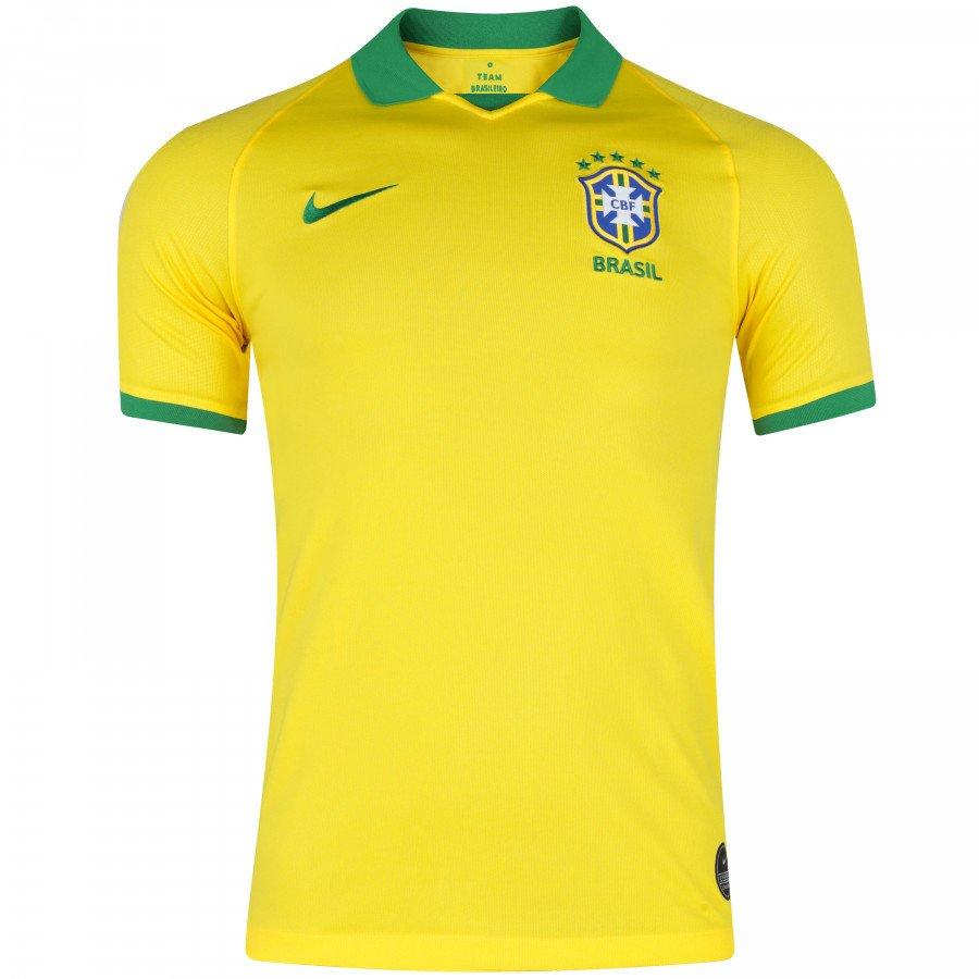 3ba1ef08d8 Camisa da Seleção Brasileira I 2019 Nike - Masculina