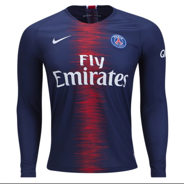 c449b1dfd Camisa Paris Saint Germain Psg Home 2019- Manga longa