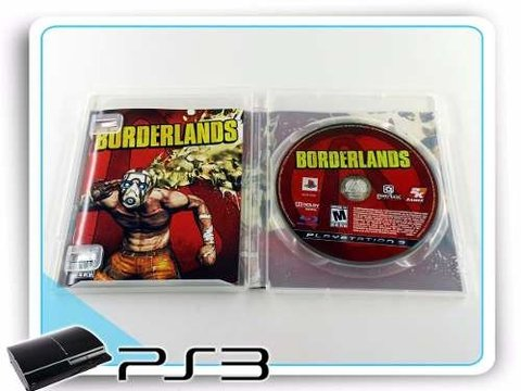 Borderlands Original Playstation 3 PS3 na internet