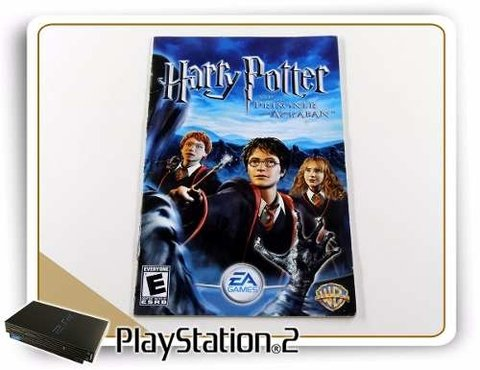 Manual Harry Potter And The Prisoner Of Azkaban Original PS2