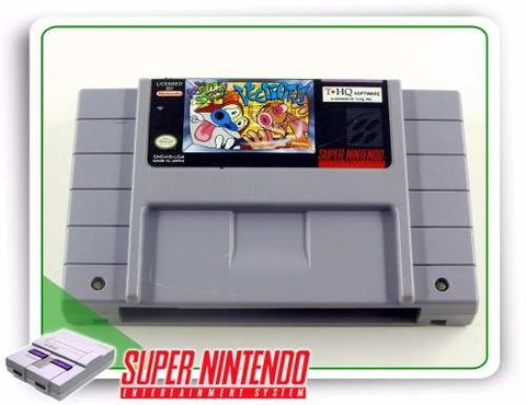 The Ren & Stimpy Show Veediots Original Super Nintendo Snes
