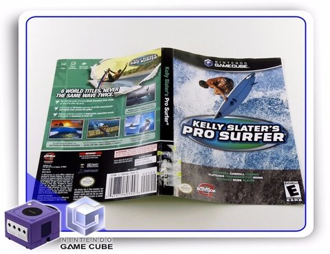 Encarte Kelly Slaters Pro Surfer Original Gamecube