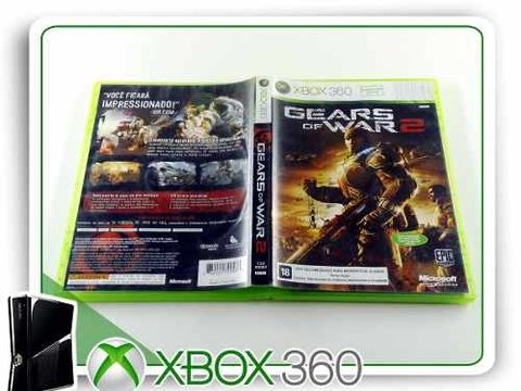 Gears Of War 2 Original Xbox 360 - comprar online