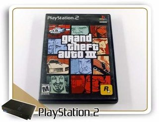 Grand Theft Auto 3 Original Playstation 2 PS2