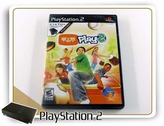 Eye Toy Play 2 Original Plastation 2 PS2