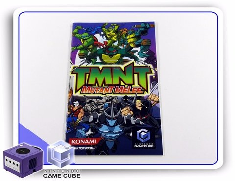 Manual Tmnt Mutant Melee Original Gamecube