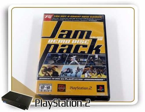Jampack Volume 10 Original Playstation 2 PS2