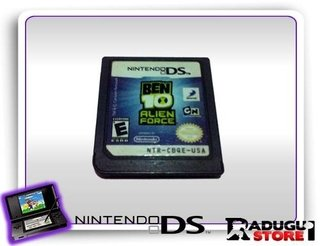 Ben 10 Alien Force Ds Original Nintendo Ds