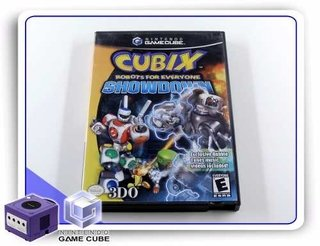 Cubix Robots For Everyone Shodown Original Gamecube Gc