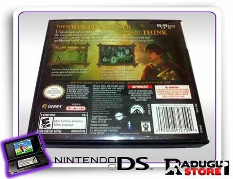 The Spiderwick Chronicles Ds Original Nintendo Ds - comprar online