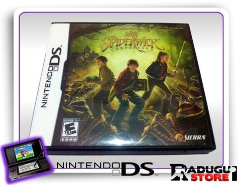The Spiderwick Chronicles Ds Original Nintendo Ds