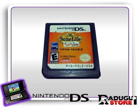 The Suite Life Of Zack & Cody Tipton Trouble Ds Original Ds
