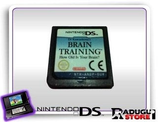 Brain Training Original Nintendo Ds