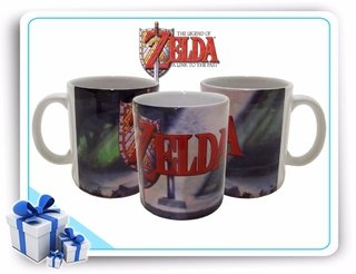 Caneca De Porcelana Legend Of Zelda