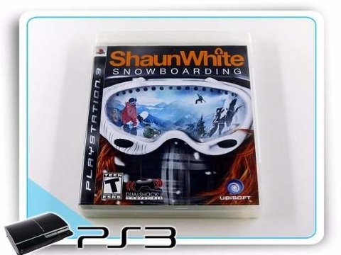 Shaun White Snowboarding Original Playstation 3 PS3