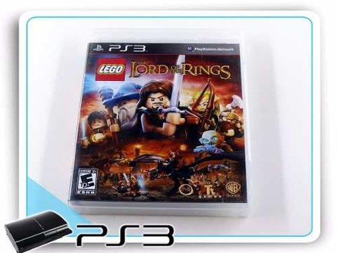 Lego The Lord Of The Rings Original Playstation 3 PS3