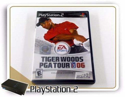 Tiger Woods Pga Tour 06 Original Playstation 2 PS2