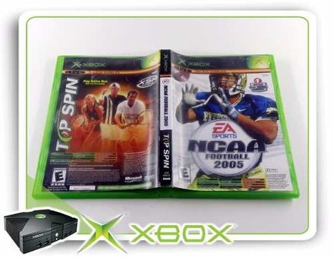 Ncaa Football 2005 + Top Spin Original Xbox Clássico - comprar online