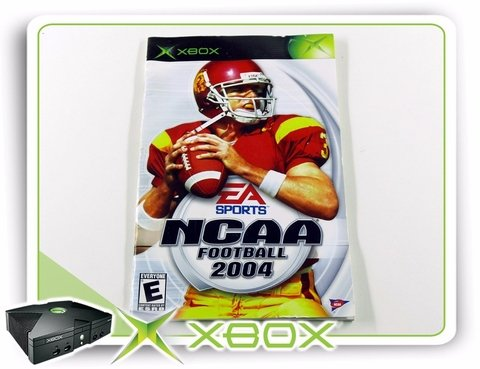 Manual Ncaa Football 2004 Original Xbox Clássico