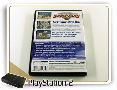 World Of Outlaws Sprintcars 2002 Original Playstation 2 PS2 na internet