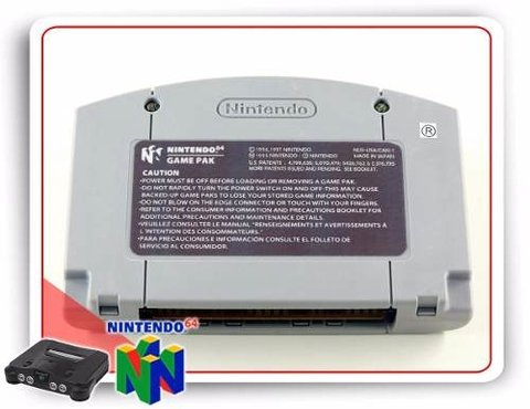 Nba Courtside Original N64 - comprar online
