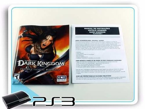 Dark Kingdom Playstation 3 Original PS3 na internet