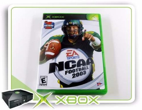 Ncaa Football 2003 Original Xbox Clássico
