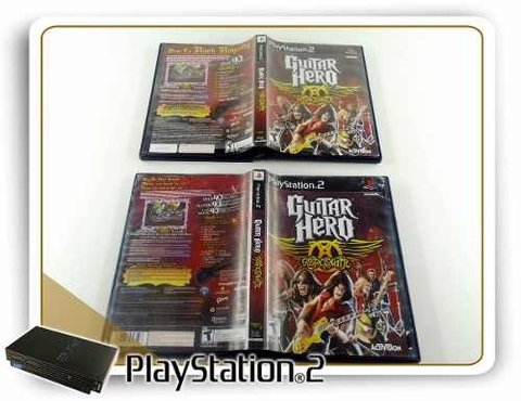 Guitar Hero Aerosmith Original Playstation 2 PS2 - comprar online