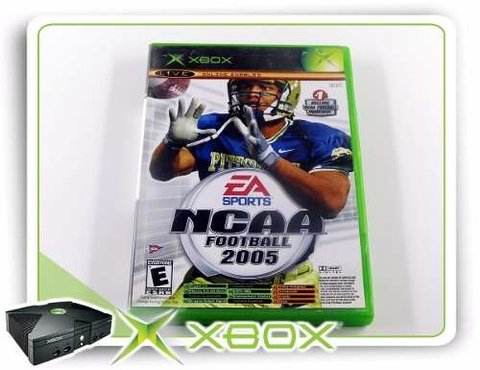 Ncaa Football 2005 + Top Spin Original Xbox Clássico