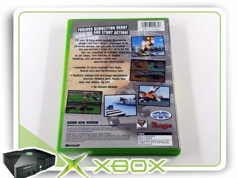 Totaled Original Xbox Clássico Ntsc na internet