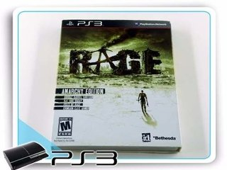 Rage Anarchy Edition Original Playstation 3 PS3