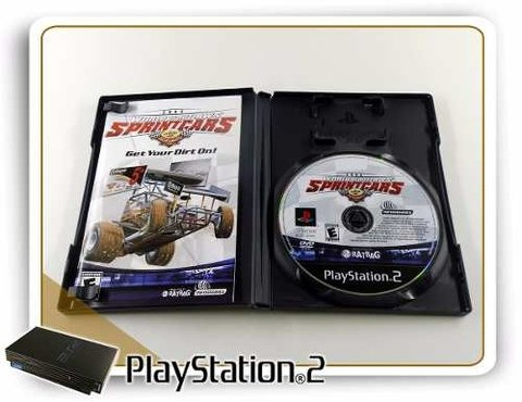 World Of Outlaws Sprintcars 2002 Original Playstation 2 PS2 - comprar online